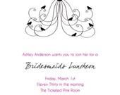 Tickled Pink-Wedding Shower Invitations-Set of 30