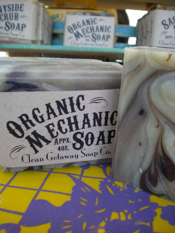 Organic Mechanic Hand Soap