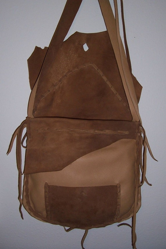 leather possibles bag brown on sale by leatherbaglady