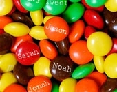Personalized Kitchen Print, Family Names on Candies, Custom Wall Art, Personalized Gift for Mom, Grandmother Gift, Gift for Grandparents