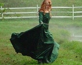 Beautiful Custom Medieval Renaissance Gown Dress SCA