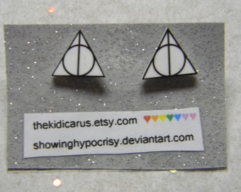 Harry Potter Deathly Hallows Earring