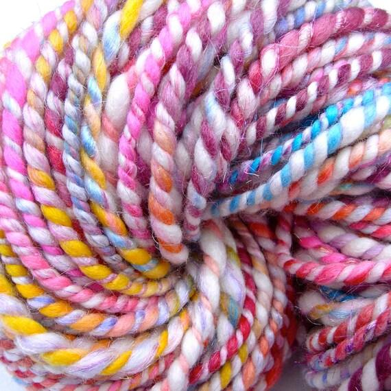 A Burst of Shimmery Love -  Crazy Art Yarn -92 Yards