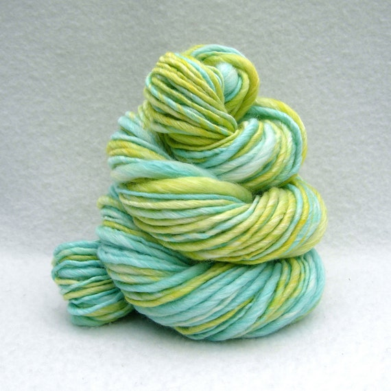 Zest - 72 yards Thick and Thin Handspun yarn