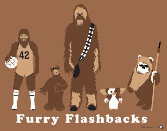 Fury Flashback 1980's 6x8 print