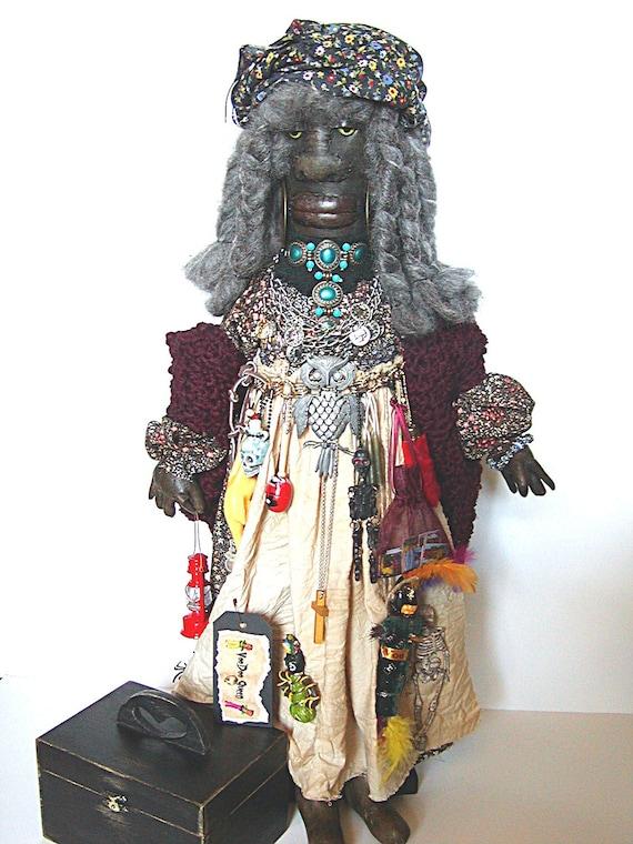 Voodoo Voodoo Doll Voodoo Queen Mojo Magic Black