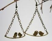 Love Bird Branch Earrings