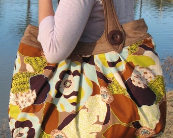 Nikki Tote Bag - PDF Sewing Pattern - INSTANT DOWNLOAD