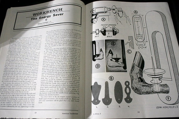 SALE - Vintage American Taxidermist  Magazine - Vol. 12, No. 2, July-Aug 1978 - Taxidermy, How-To