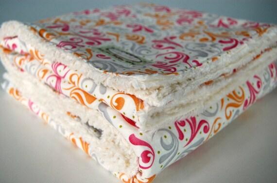 Baby Blanket Moda 39 S Sunkissed Secret Garden And Vanilla