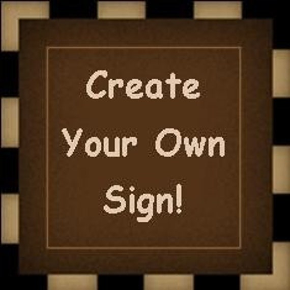 Create Your Own 7 1 2 X 24 Wood Sign By Snickerdoodlesigns