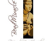 Lady with an Ermine (Leonardo da Vinci) - PDF Peyote Barcelet Pattern
