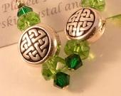 Celtic Knot 925 Sterling Earrings Eileen the Irish Lass
