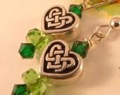 Celtic Knot Sterling Earrings the Brigid