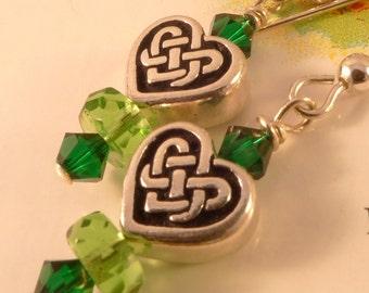 Celtic Knot Sterling Earrings