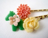 Little Pony ans Flowers Hairpins Set