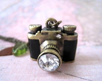 Whimsy Camera Necklace
