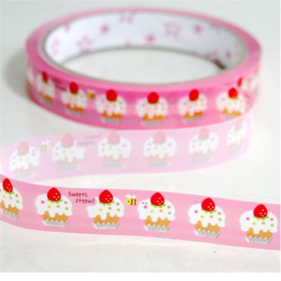 Strawberry and Cake Deco Tape