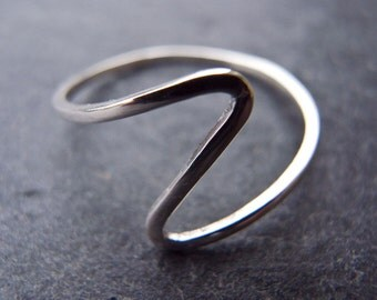 Sterling Silver Flash ring