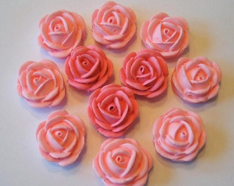 lot of 50 roses for cake decorating