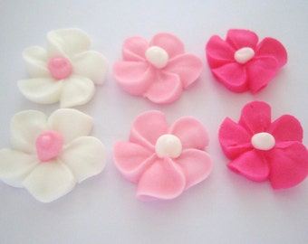 lot of 100 riyal icing flowers