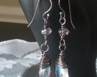 Amethyst Haze Earrings