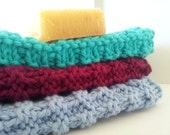 Cotton Washcloths, Dishcloths, Cleaning Rags - Pick 3