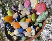Real Bargain. SUMMER. Gemstones. Assortment. 6 oz. Cabochons. Beads. (5262-summer-12) Jewelry Supplies by GemsBeadsEtc on Etsy.