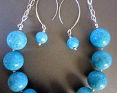 Large Persian Turquoise Necklace-design by behin