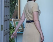 Tan Flight Attendant Dress