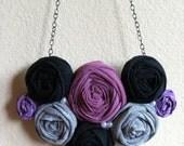 Stardust - Rosette Bib Necklace (FREE SHIPPING)
