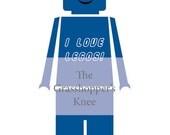Lego Iron-On Design