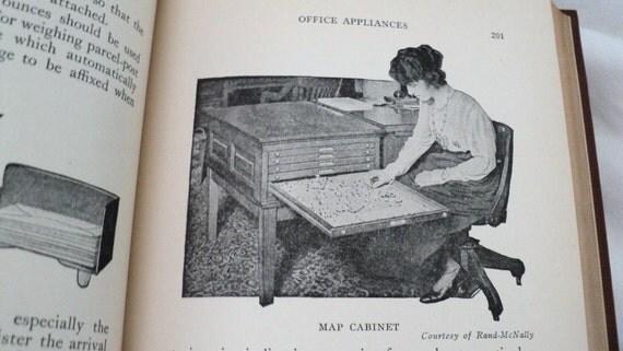 1920s Secretary Book Business Office