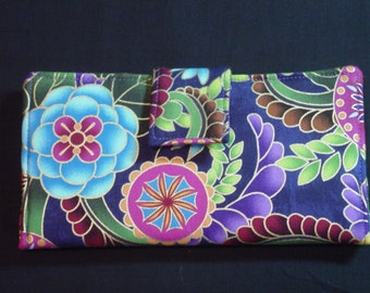 WOMEN'S WALLET Custom Made For You  by Quilted Creations By Me
