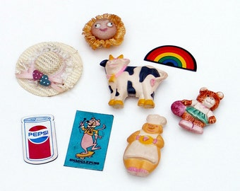 Vintage Refrigerator Magnets Instant Collection