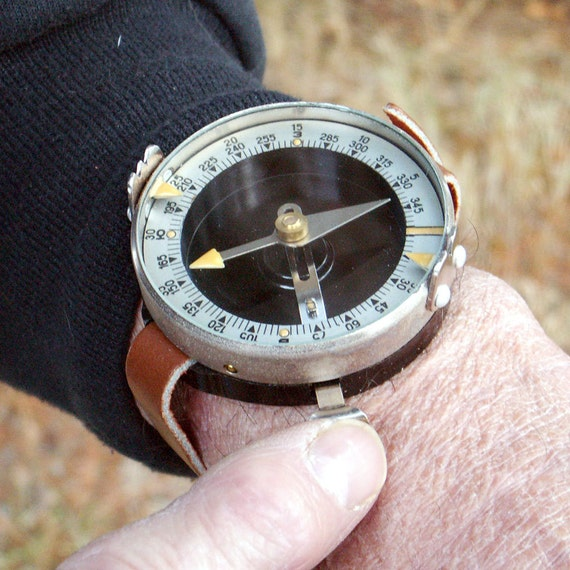 Vintage Compass Russian Army Wrist