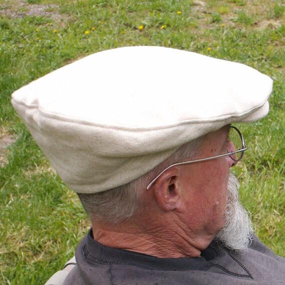 All Wool Newsboy Hat Golf Cap Neutral Beige