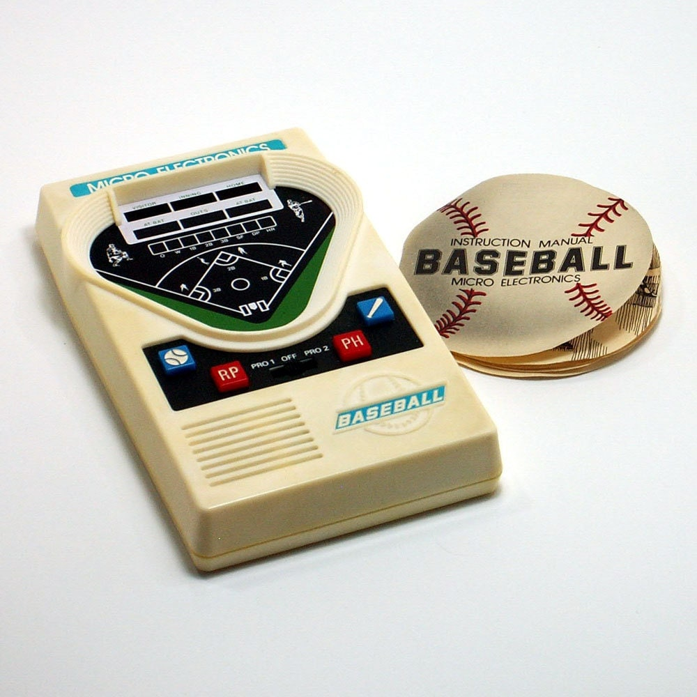 Amazon.com: handheld baseball games