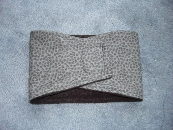 Dog Belly Band - Male Dog Diaper - Sizes XS (8-10 waist) - Large (waist 14-16 )