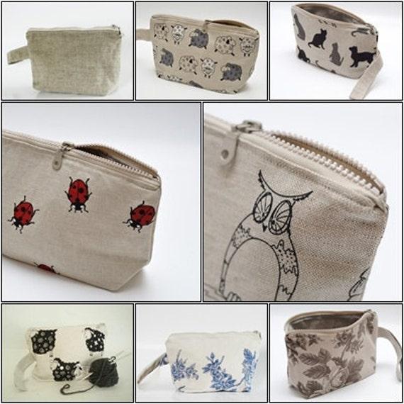 Браслет сумка - Blue Roses винтажном стиле