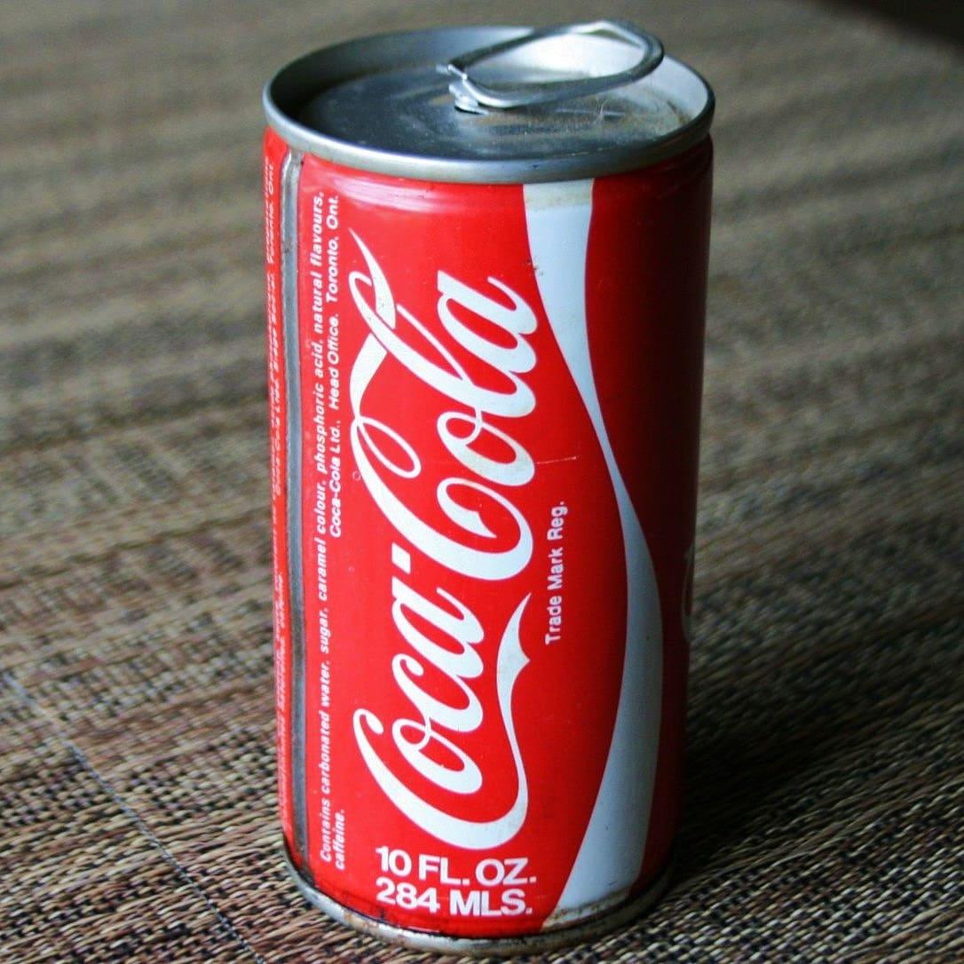 Vintage Coca Cola Can 67