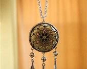 Victorian Style Dream Catcher Necklace