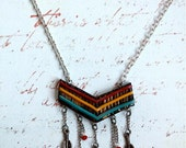 Charmed Chevron Necklace
