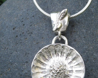 Tennessee Coneflower Signature Sterling Silver Necklace