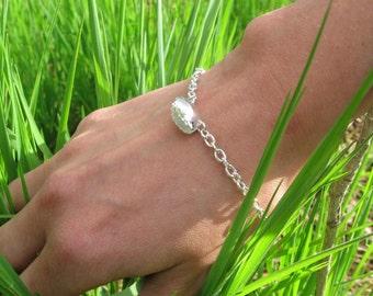 Venus Fly Trap Sterling Silver Bracelet