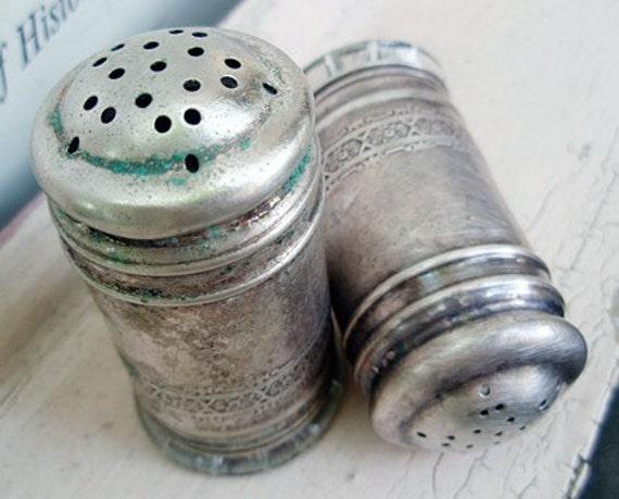 RESERVE for GIedre - vintage salt and pepper