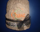 Camo Personalized Hooded Towel Embroidered Name or Monogram