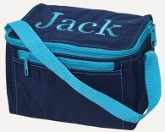 Lunch Tote--Monogrammed with Name or Initials--Click For More Colors--
