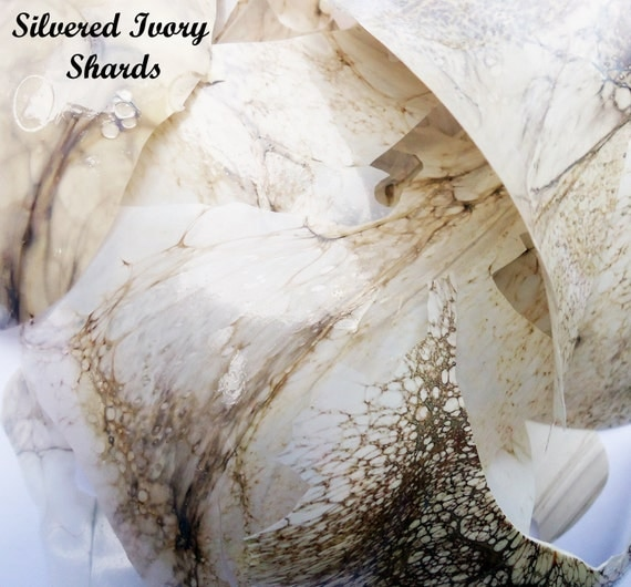 Silver Infused Ivory Shards 5g