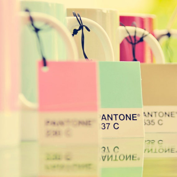 Pantone Pastel Tones Mugs - 5x5 Fine Art Photo